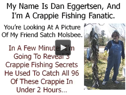 Crappie Fishing Secrets | Free Crappie Fishing Video Old School Secrets For Catching A